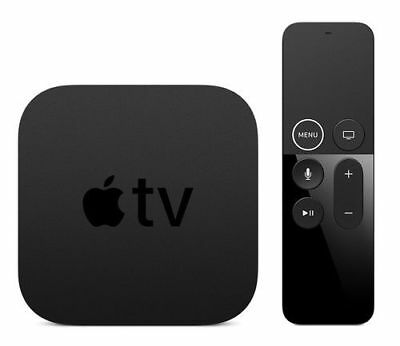 Apple TV 4K HD Media Streamer - Black (MP7P2LL/A)