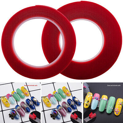No Trace Clear Crystal Sticker Decoration Tools DIY Nail Double-sided Tape