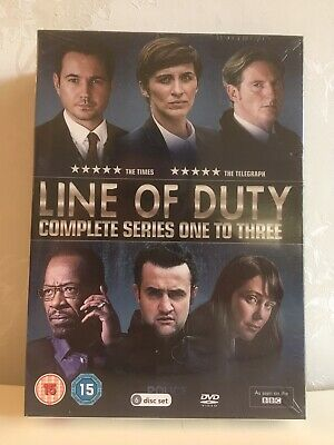 Brand New Sealed Line Of Duty DVD Boxset Series 1-3