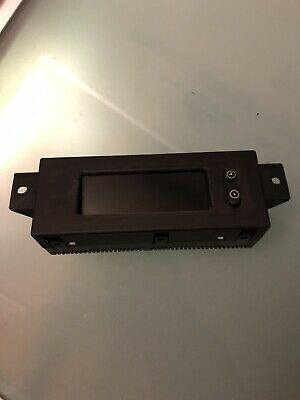 lcd time clock radio display trafic vivaro Trafic Primastar 07-14