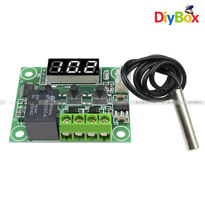 White -50-110°C 12V W1209 Digital Thermostat Temperature Sensor Control Module