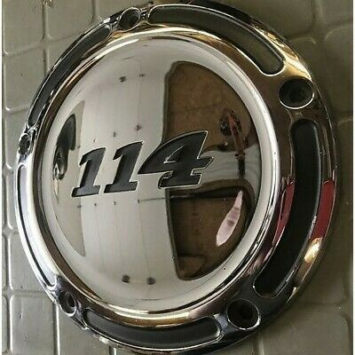 Harley Davidson Oem Clutch Cover, Chrome, Cvo 114, 25700671