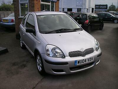 Toyota Yaris 1.0 VVT-i T3 2004 Silver ONLY 33,535 MILES
