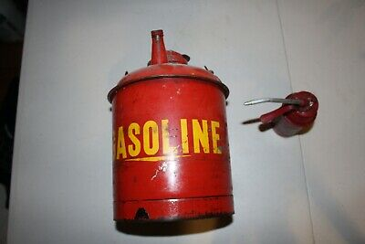 Two Antique Cans 1 gas 1 oil