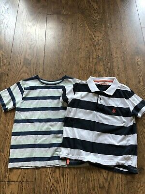 Lovely Boys T Shirt X 2 Bundle Aged 5 - 6 Years