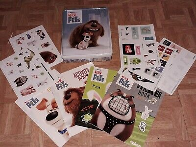 The Secret Life Of Pets Activity Books