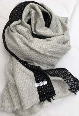 Cream Colour Cashmere Scarf |Handmade From Nepal | Xmas Gift For Anyone | Unisex