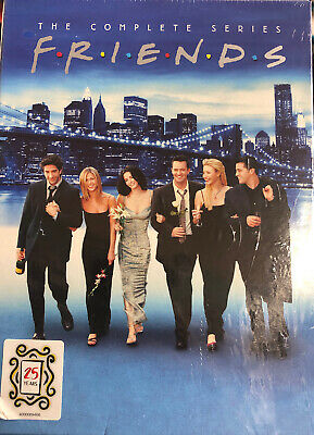 New Friends The Complete Series Dvd Seasons 1-10 Box Set Sealed Fast Free Ship!