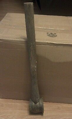 """Antique  Copper /Brass Blacksmith / Railroad Hammer    22 1/2"""" With Handle"""