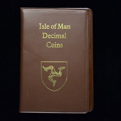 1988 Isle of Man Decimal Coin Set (otb163)