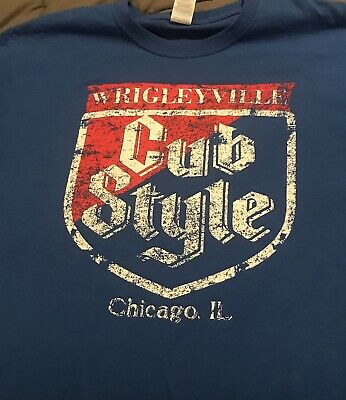 Chicago Cubs Cub Style Large shirt Old Style Wrigleyville