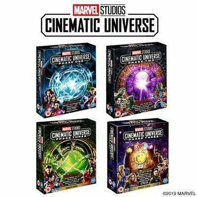 Marvel Studios Collector's Edition Set - Phase 1,2 & 3 Part 1 & 2 (Blu-ray) NEW