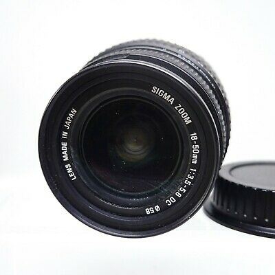 Sigma 18-50mm f/3.5-5.6 DC Canon EF-S Fit Lens - Tested & Working #LE-2024