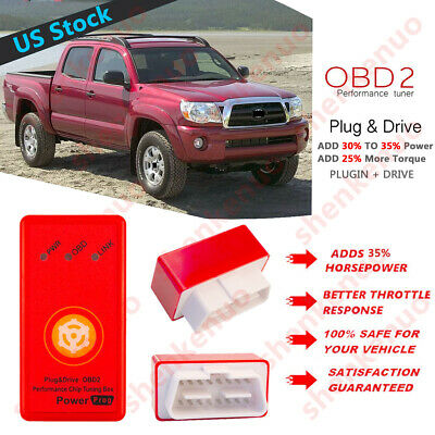Powerstroke Tuner Chip Performance Tuning Programmer For Toyota Tacoma 1996-2019