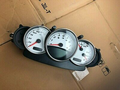Porsche Boxster 986 Manual Instrument Cluster Clocks Speedo 98664121701 EOD