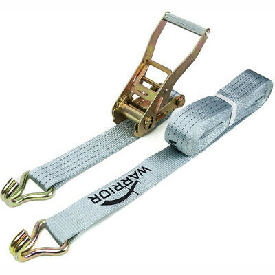 Ratchet Strap with Claw Hooks. 2 Piece Set 4 Tonnes. AC5480