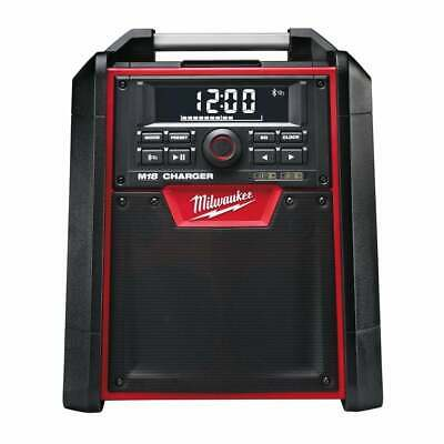 Milwaukee M18RC-0 18v Radio Charger Jobsite Radio With Bluetooth Unit Only