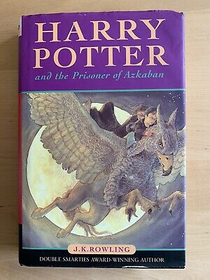 Harry Potter And The Prisoner Of Azkaban Harback Book First Edition 9th Pressing