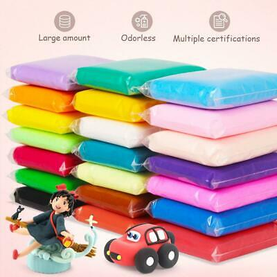 24 Colour Children's Modeling Soft Clay Air Drying Clay Super Light Craft Tools