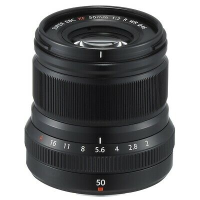 Fujifilm XF 50mm f/2 R WR Telephoto Lens (Black)