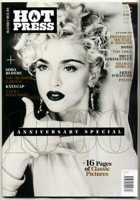 MADONNA - HOT PRESS MAGAZINE (NOVEMBER 2019) 1000th ANNIVERSARY SPECIAL ISSUE