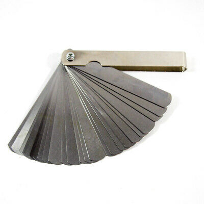 VALUE COLLECTION 26 Piece Feeler Gage Set 0.037mm to 0.635mm 615-7209