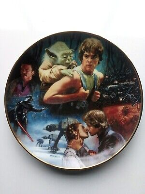 Star Wars Trilogy Hamilton Plate 'The Empire Strikes Back'- New condition