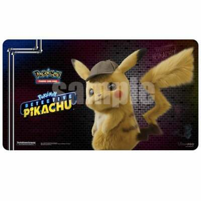 Ultra Pro Pokemon TCG Play-Mat: Detective Pikachu | Trading Card Game-Mat | New