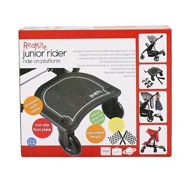Red Kite Junior Rider - Universal Adjustable Buggy Board RRP £36
