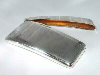Silver Curved Card Case c.1933