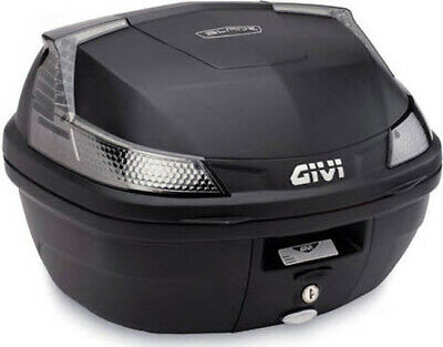 Monolock Top Case Matte Black Smoke Lens Givi B37NTA