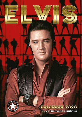 ELVIS 2020 Calendar by Dream. New and Sealed.