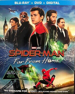 Spider-Man Far From Home, 2019 (Blu-Ray + DVD + Digital)