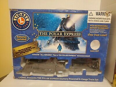 Lionel The Polar Express Train Set Battery Powered W Original Box Complete