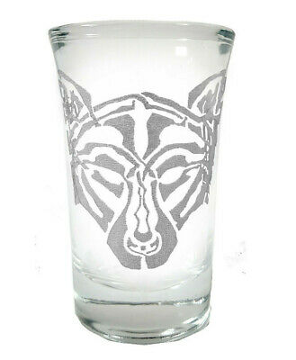 Wolf Shot Glass - Free Personalized Engraving, Celtic Wolf 1.5 oz Shot Glass
