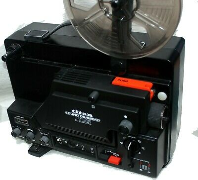 Brand NEW- Titan SOUND 2 TRACK DS 620MT Super 8mm Projector , never used.