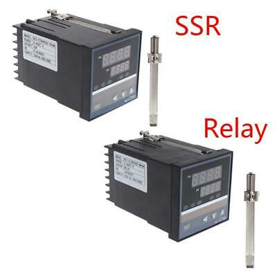 220V  Temperature Controller REX-C700 K type Input Relay SSR Output Thermostat