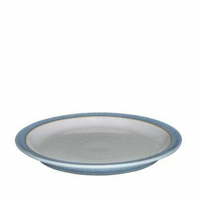 4x Denby Elements Blue Plate 265mm Dinner Round Crockery Commercial