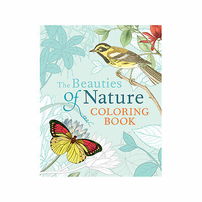 Designer Colouring Book for Adults - The Beauties of Nature with Extra 5% Off