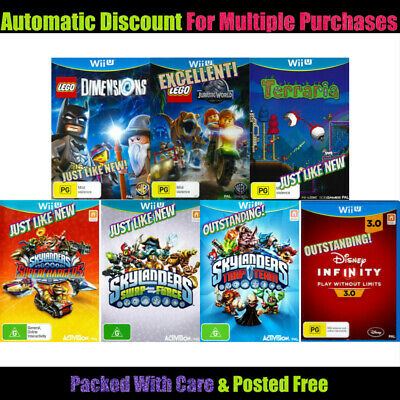Nintendo Wii U 🔹 YOUR CHOICE OF GENTLY PRE-OWNED GAMES 🔹 Indiv Described 13/11