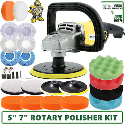 "6"" 680W 230V Dual Action Electric Car Polisher Buffer Sander Polishing Machine"