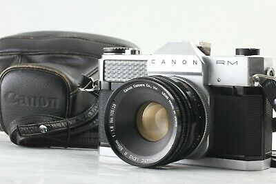 【EXC+++++】Canon Canonflex RM, Super Canomatic 50mm f/1.8 Lens from JAPAN#V07【F/S