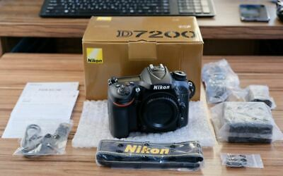 Nikon D7200 24.2 Mp DX-Format CMOS WiFi Digital SLR Camera New