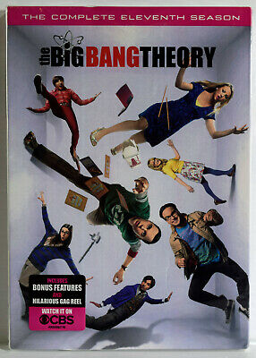 The Big Bang Theory: The Complete Eleventh Season (DVD, 2018) NEW SEALED