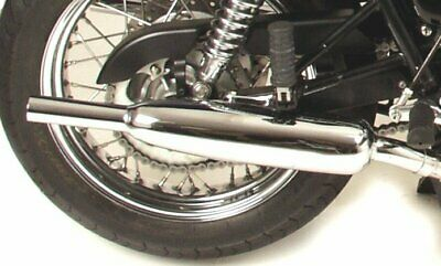 Triumph Bonneville/T100  Exhausts Norman Hyde TOGA CLASSIC CHROME HBS105 SECONDS