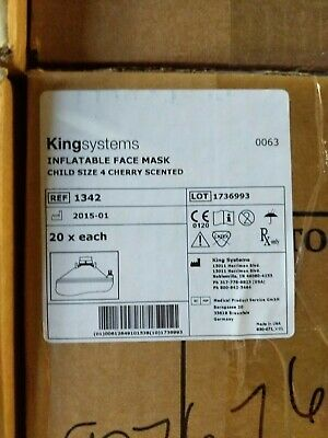 KingSystems Inflatable Face Mask (Child) REF: 1342 (Box of 20)
