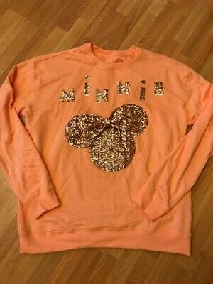 Minnie Mouse Sweat Pulli Pullover exklusiv Disneyland XL DISNEY Mickey wie NEU