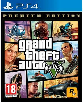 Gta 5 Grand Theft Auto 5 Premium Edition Eu Ps4 Videogioco Playstation 4
