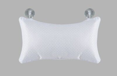 Pique Spa Bath Pillow  Soft Cushioned Feel For Extra Comfort 100% Polyester