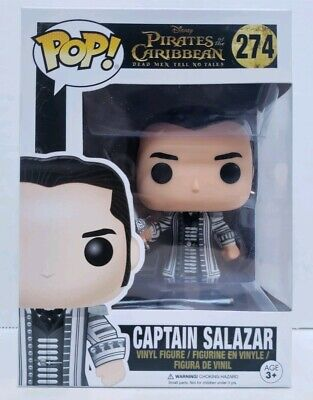 Funko Pop! Movies Pirates Of The Caribbean Captain Salazar Free Shipping